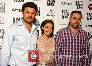Karl Urban, Olivia Thirlby and Alex Garland Fantastic Fest 2012 - Dredd 3D Premiere - Arrivals Austin, Texas - 20.09.12