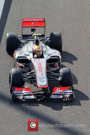 Lewis Hamilton, Team McLaren-Mercedes   F1 - Formula One - YAS Marina Circuit - Practice Yas Island, Abu Dhabi...