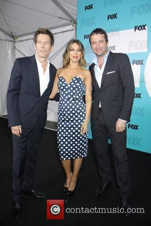 Kevin Bacon, James Purefoy and Natalie Zea 2012 Fox Upfront Presentation held at the Wollman Rink - Arrivals New York...