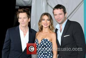 Kevin Bacon, Natalie Zea, James Purefoy  2012 Fox Upfront Presentation held at the Wollman Rink - Arrivals New York...