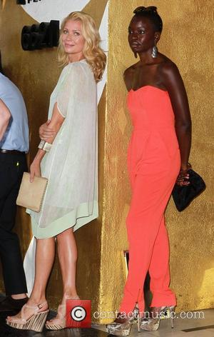 Laurie Holden, Danai Gurira Gale Anne Hurd honored on the Hollywood Walk Of Fame Hollywood, California - 03.10.12