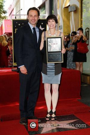 Andrew Lincoln, Gale Anne Hurd Gale Anne Hurd honored on the Hollywood Walk Of Fame Hollywood, California - 03.10.12