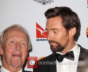 Paul Hogan and Hugh Jackman