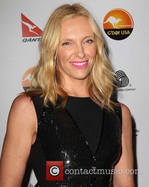 Toni Collette G'Day USA Black Tie Gala at the JW Marriot at LA Live - Arrivals  Featuring: Toni Collette...