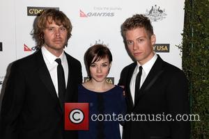 Eric Christian Olsen, RenŽe Felice Smith, and Barrett Foa 9th Annual G'Day USA Gala held at the Grand Ballroom inside...
