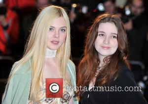 Elle Fanning, Alice Englert 56th BFI London Film Festival: Ginger And Rosa - official screening held at the Odeon West...