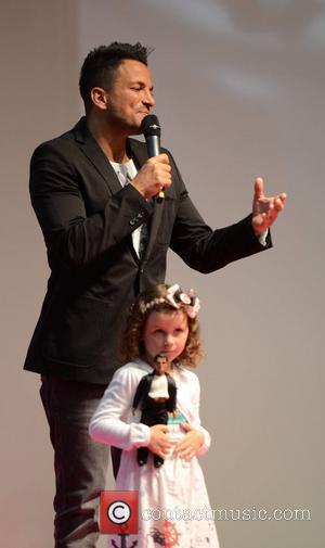Peter Andre Tackling Cycling Challenge For Charity