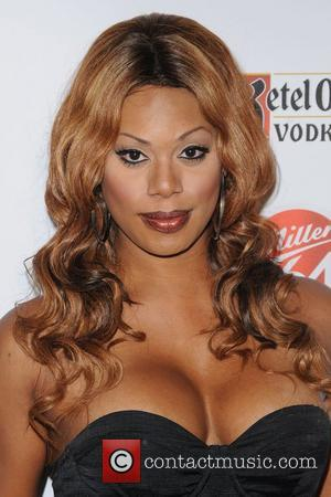 Laverne Cox,  at the 2012 GLAAD Manhattan Summer Event. New York City, USA - 07.08.12