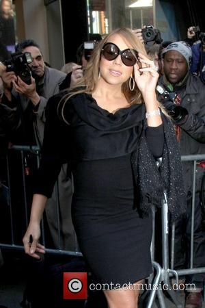 Mariah Carey Celebrities are seen arriving at ABC Studios for 'Good Morning America' New York City, USA - 21.02.12