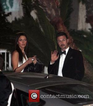 David Arquette and Christina McLarty The 69th Annual Golden Globe Awards (Golden Globes 2012) held at The Beverly Hilton Hotel...