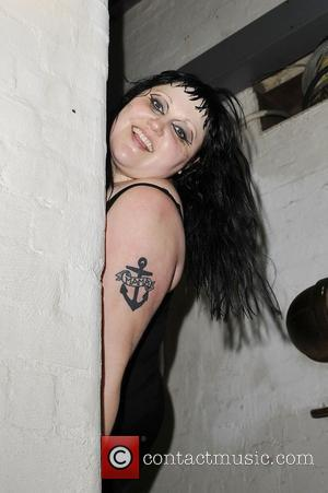 Beth Ditto of Gossip backstage at the Shepherds Bush Empire London, England - 05.07.12