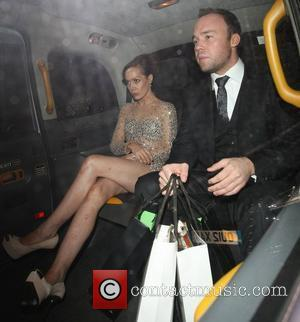 Tara Palmer-Tomkinson leaves The GQ Men of the Year Awards 2012 after being turned away from the after party for...