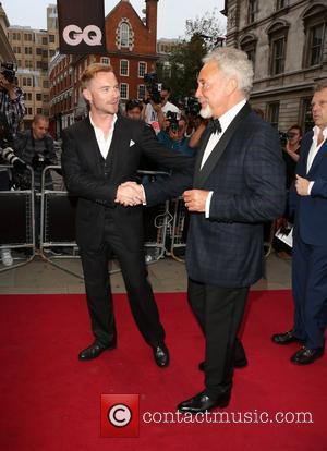 Ronan Keating and Tom Jones The GQ Men of the Year Awards 2012 - arrivals London, England - 04.09.12
