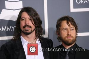 Dave Grohl and Nate Mendel of Foo Fighters 54th Annual GRAMMY Awards (The Grammys) - 2012 Arrivals held at the...