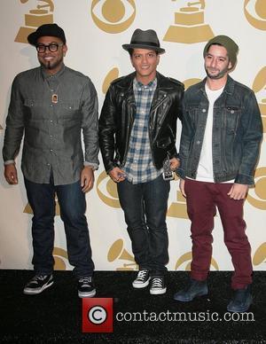 Bruno Mars Claims 'Hard Work' Led To Grammy Nominations
