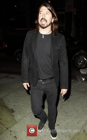Dave Grohl arrives at the Wiltern Theatre to watch Guns N' Roses in concert Los Angeles, California, USA - 11.03.12