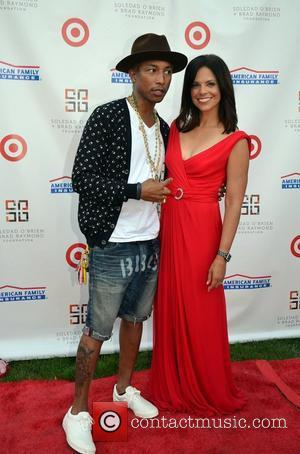 Soledad O'Brien and Pharrell Williams The 2nd Annual New Orleans In The Hamptons Benefit Gala Bridgehampton, New York - 27.07.12