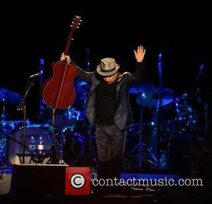 Paul Simon,  performs the album 'Graceland' live at Hard Rock Calling in Hyde Park - Day 3 London, England...