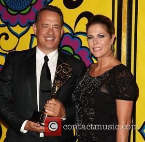 Tom Hanks Turns Emmy Trophy Into Hood Ornament
