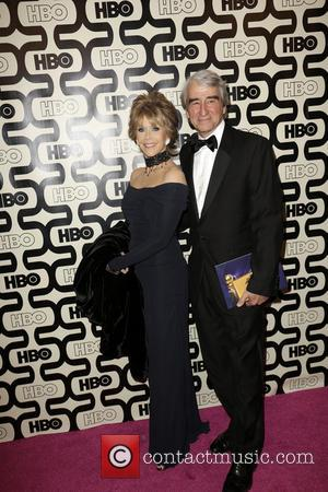Jane Fonda; Sam Waterson 2013 HBO's Golden Globes Party at the Beverly Hilton Hotel - Arrivals  Featuring: Jane Fonda,...