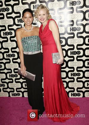 Olivia Munn; Alison Pill 2013 HBO's Golden Globes Party at the Beverly Hilton Hotel - Arrivals  Featuring: Olivia Munn,...