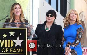 Rita Wilson,  Ann Wilson, Nancy Wilson, Heart is  honored with a Hollywood Star on the Hollywood Walk of...
