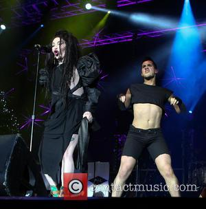 Pete Burns; Dead or Alive Hit Factory Live's 'Christmas Cracker' at The O2 Arena London - Performances  Featuring: Pete...