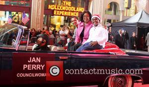 2012 Hollywood Christmas Parade Benefiting Marine Toys For Tots - Show  Featuring: Jan Perry, Family