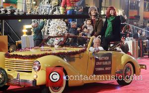 2012 Hollywood Christmas Parade Benefiting Marine Toys For Tots - Show  Featuring: Matthew Gray Gubler, Family