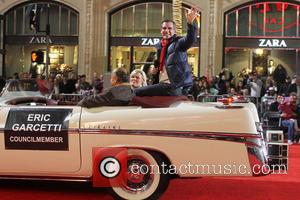 2012 Hollywood Christmas Parade Benefiting Marine Toys For Tots - Show  Featuring: Eric GarcettiWhere: Los Angeles, California, United States...