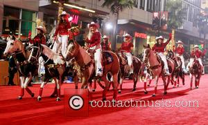 2012 Hollywood Christmas Parade Benefiting Marine Toys For Tots - Show  Featuring: AtmosphereWhere: Los Angeles, California, United States When:...