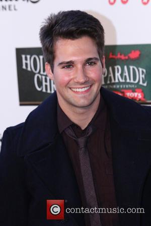 2012 Hollywood Christmas Parade Benefiting Marine Toys For Tots - Show  Featuring: James MaslowWhere: Hollywood, California, United States When:...
