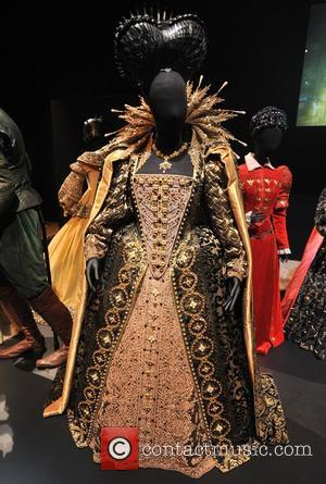 Shakespeare in Love - Dame Judi Dench as Elizabeth I Hollywood Costume - press view held at the Victoria and...