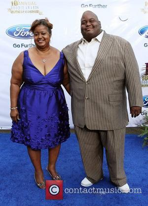 Lavell Crawford and Guest The 10th Annual Ford Hoodie Awards at MGM Grand Garden Arena - Arrivals  Las Vegas,...