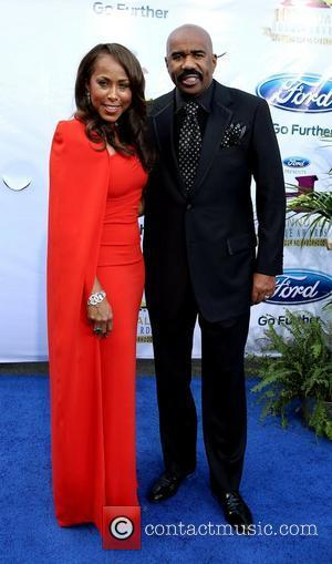 Steve Harvey, Majorie Harvey The 10th Annual Ford Hoodie Awards at MGM Grand Garden Arena - Arrivals  Las Vegas,...