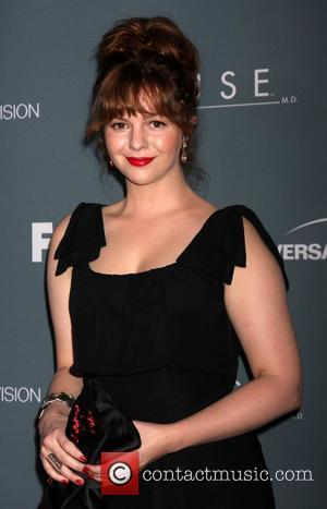 Amber Tamblyn's Dress Steals The Day At Her Wedding To David Cross