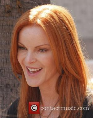 Marcia Cross Celebrates 50th Birthday In The Woods
