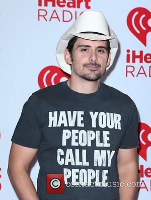 Brad Paisley iHeart Radio Music Festival 2012 Day 2 held at The Grand Garden Arena at MGM Grand Resort and...