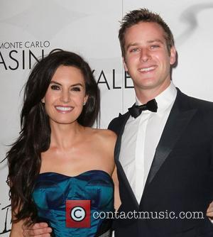 Armie Hammer, Elizabeth Chambers  9th Annual Alfred Mann Foundation 'Innovation And Inspiration' Gala at The Barker Hanger - Arrivals...