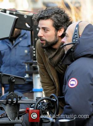 Oscar Isaac On the set of 'Inside Llewyn Davis' on location in Manhattan New York City, USA - 17.02.12