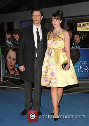 Alexandra Roach and Harry Lloyd 'The Iron Lady' UK film premiere held at the BFI Southbank - Arrivals London, England...