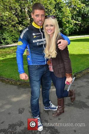 Keith Duffy, Leanne Moore Photocall to announce Team Keith Duffy IRONMAN 70.3 IRELAND which will compete in the Ironman competition...