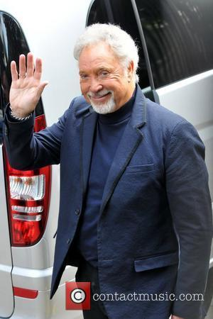 Tom Jones heading to 'Alan Carr: Chatty Man' at the ITV studios  London, England - 16.05.12