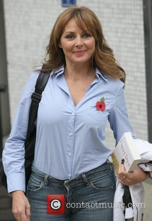Carol Vorderman outside the ITV Studios London, England - 08.11.12