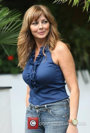 Carol Vorderman leaves the ITV studios London, England - 14.09.12