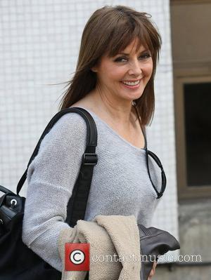 Carol Vorderman at the ITV studios London, England - 02.04.12