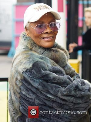 Dionne Warwick Celebrities are seen leaving ITV Studios London, England - 24.10.12