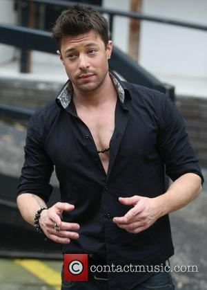 Duncan James at the ITV studios London, England - 10.05.12
