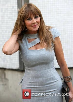 Carol Vorderman at the ITV studios London, England - 12.09.12