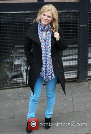 Emilia Fox Walks Streets In Her Pyjamas